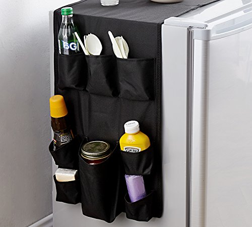 Double Cookin Caddy Over the Fridge Storage Organizer