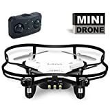 Luxon Mini RC Quadcopter Drone With Led Light,4CH 2.4GHz 6-Axis Gyro RTF White