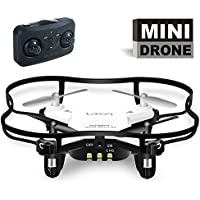 Mini RC Quadcopter 4 Channel 2.4 GHz 6-axis Gyro ,Mini Drone RTF GD50F (White)