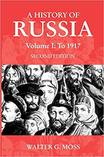 Amazon com: A History of Russia Volume 1: To 1917 (Anthem