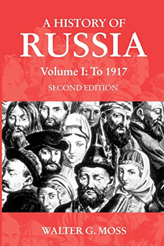 A History of Russia Volume 1: To 1917 (Anthem Series on Russian, East European and Eurasian Studies) (Best History Of Russia)