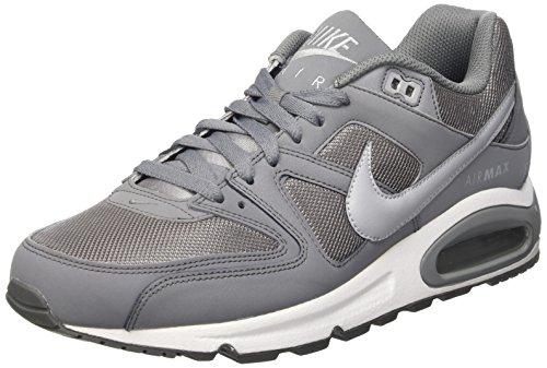 Nike Air Max Command, Zapatillas de Running para Hombre Gris / Blanco (Cool Grey / Wolf Grey-White)