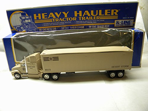 Hauler Tractor (K-Line K-8515 Desert Storm Heavy Hauler Tractor Trailer)