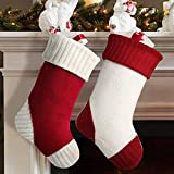 Meriwoods Christmas Stockings, 2 Pack 18 Inches
