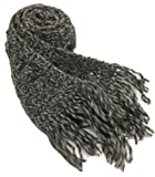Crocheted By Hand Scarf in Organic Pure German Wool - Winter Nights (Long/one-of-a-kind)