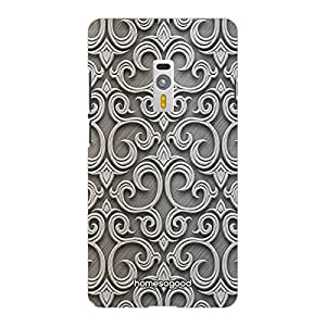 HomeSoGood Abstract Wall Design Pattern Grey 3D Mobile Case For OnePlus 2 (Back Cover)