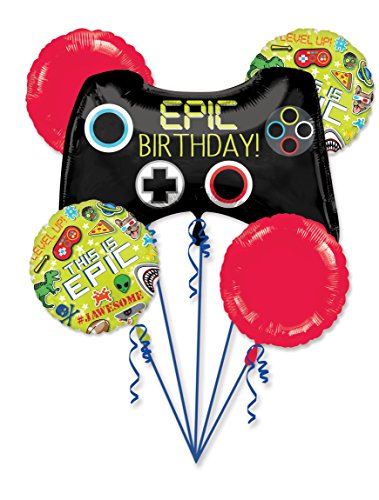 (Gamer's Epic Party This Is Epic Bouquet Of Balloons)