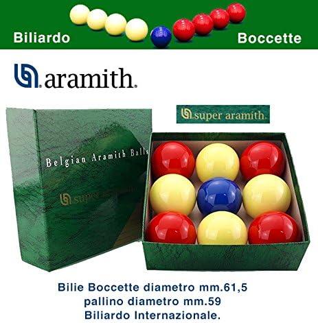 Bilie boccette Super Aramith diámetro m.61,5 diámetro 649 m.59 de ...