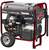 Powermate PM0601258, 12500 Running Watts/15625 Starting Watts, Gas Powered Portable Generator