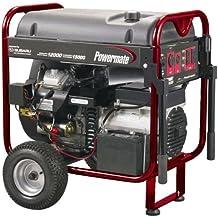 Powermate PM0601258, 12500 Running Watts/15625 Starting Watts, Gas Powered Portable Generator