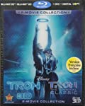 Cover Image for 'Tron: Legacy (Five-Disc Combo Blu-ray 3D / Blu-ray / DVD / Digital Copy + Tron: The Original Classic Special Edition Blu-ray)'
