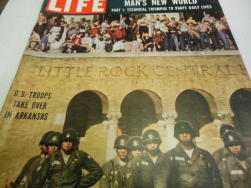 Life Magazine October 7, 1957 -- Cover: U.S. Troops for sale  Delivered anywhere in USA