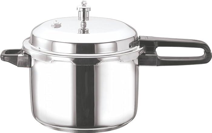 Vinod V-5L Stainless Steel Sandwich Bottom Pressure Cooker, 5-Liter