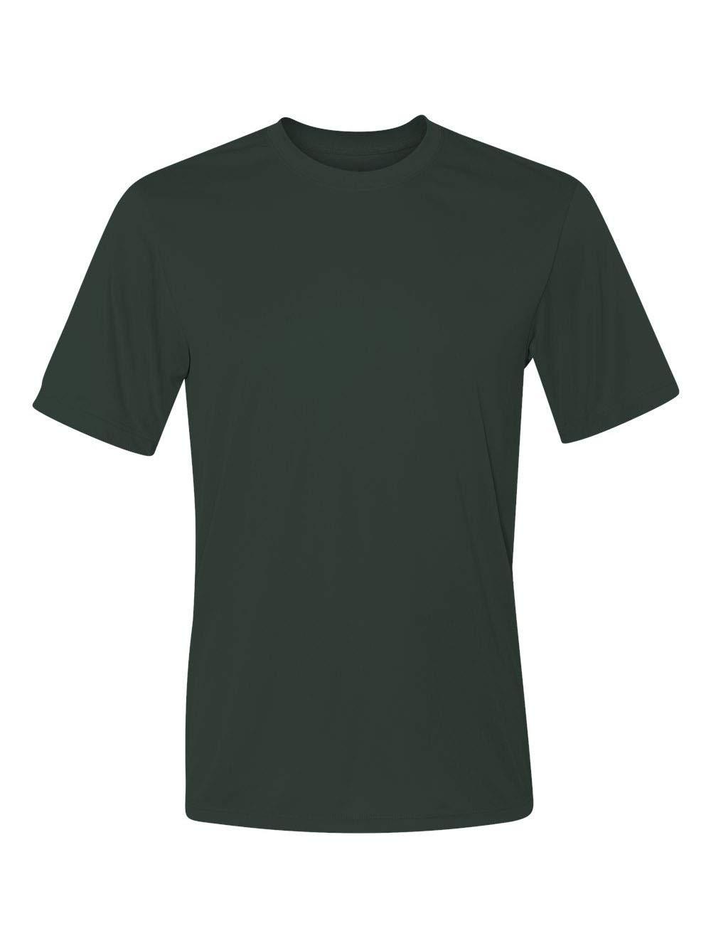 Hanes Cool DRI TAGLESS Men's T-Shirt, Deep Forest, XXX-Large