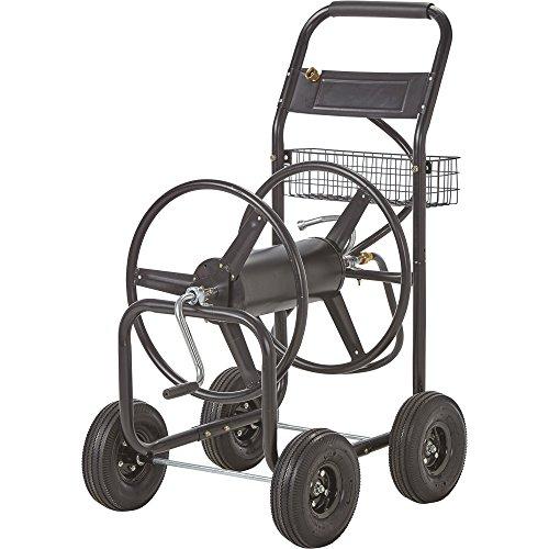 Kotulas Garden Hose Reel Cart - Holds 300ft. x 5/8in. Hose (Cart Reel Metal Hose)