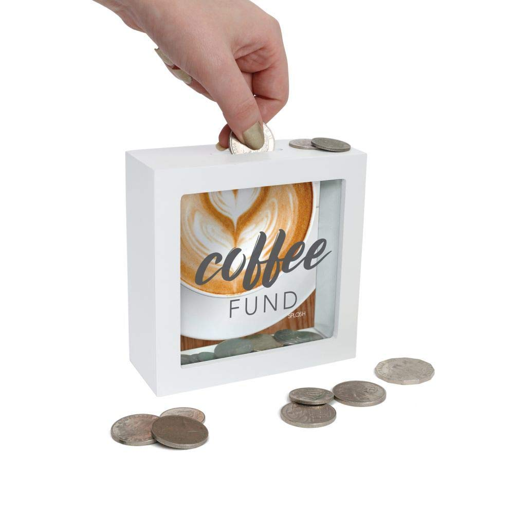 Coffee Fund Splosh Mini Tirelire