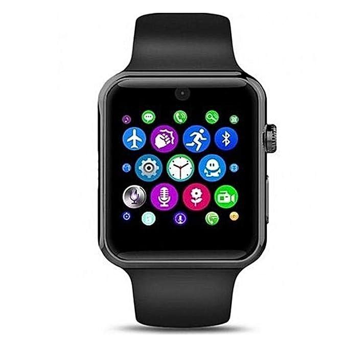 ADTECK ASUS Zenfone 4 Max Montre CONNECTÉE, Smartwatch SIM/TF(Micro SD), Émetteur Bluetooth, Appareil Photo et Tactile Intelligent,Traqueur Fitness ...