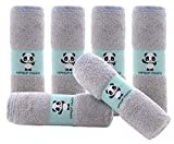 Hypoallergenic Bamboo Baby Wash Clothes - 2 Layer