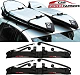 Car Rack & Carriers Double Surfboard Car Rooftop Rack, 2 Surfboard Soft Wrap Roof Racks Rax any Car, SUV, Minivan Van Sedan