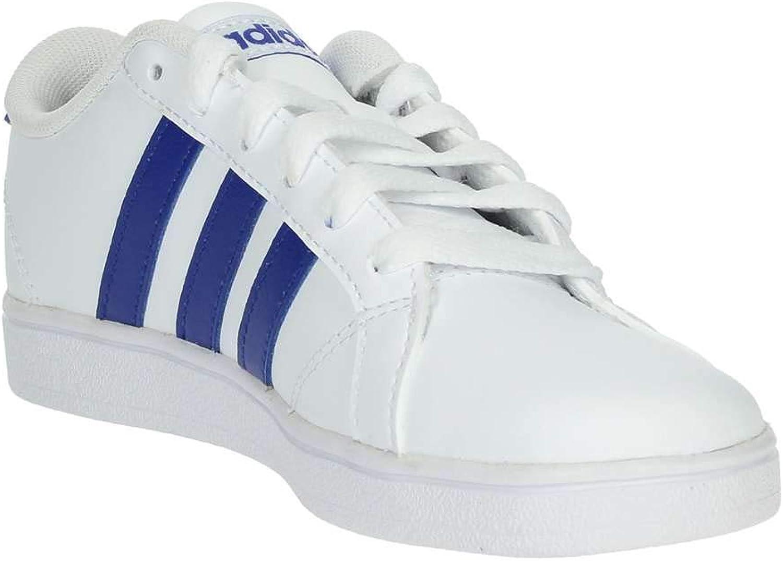 adidas Baseline K Scarpe da Ginnastica Unisex Bianco Blu Act Blanc