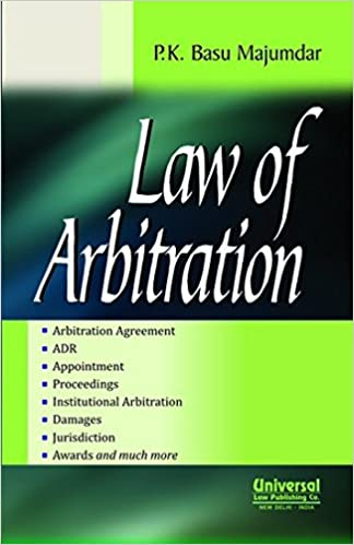 Buy Law Of Arbitration Book Online At Low Prices In India Law Of