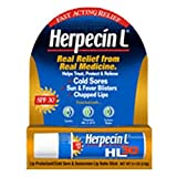 Herpecin-L Lip Balm Stick, 30 SPF, 0.1 Ounce (Pack of 2)