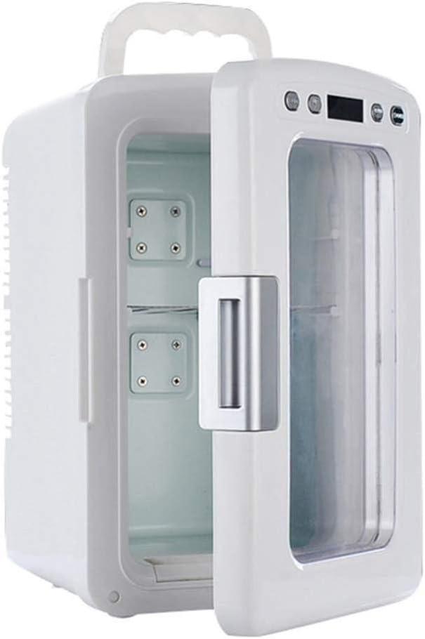 12 litros Mini refrigerador del coche más fresco Calentador con el modo ECO Inicio/Cosméticos médica Nevera Congelador Vino de almacenamiento de Control Digital Display 2-8 ° C