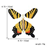 beemean Magic Flying Butterfly Gift Cards - Wind Up Butterfly in The Book Fairy Toy Great Surprise Wedding
