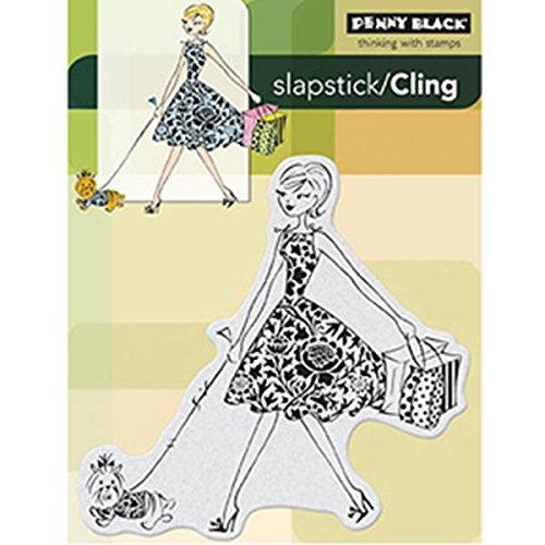 Penny Black Fashion Leader Slapstick//Cling Stamp