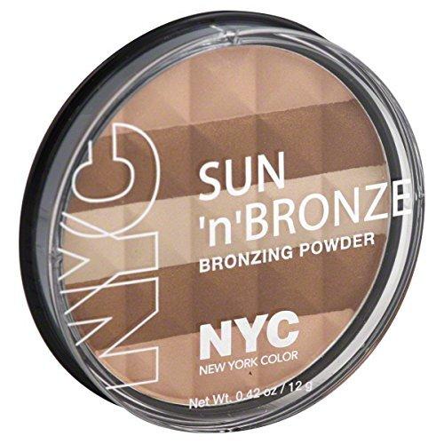 N.Y.C. New York Color Sun 2 Sun Bronzing Powder, Hamptons Radiance, 0.42 Ounce (Hampton Stores)