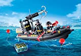PLAYMOBIL 9362 SWAT Team Inflatable Boat - New 2018