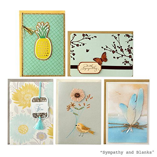 Hallmark All Occasion Handmade Boxed Set of Assorted Greeting Cards with Card Organizer (Pack of 24)—Birthday, Baby, Wedding, Sympathy, Thinking of You, Thank You, Blank Photo #2