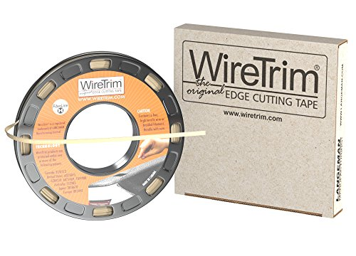 1/4 Fiber (WireTrim, FiberLine (Fiber), Edge Cutting Tape, 1/4-Inch X 100 Feet, 1 Roll, 883662001239)