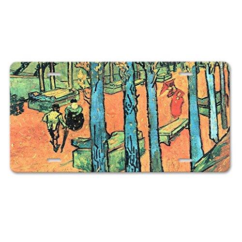 - Zogpemsy Marguerite Gachet In Garden (Van Gogh) Car Aluminum License Plate