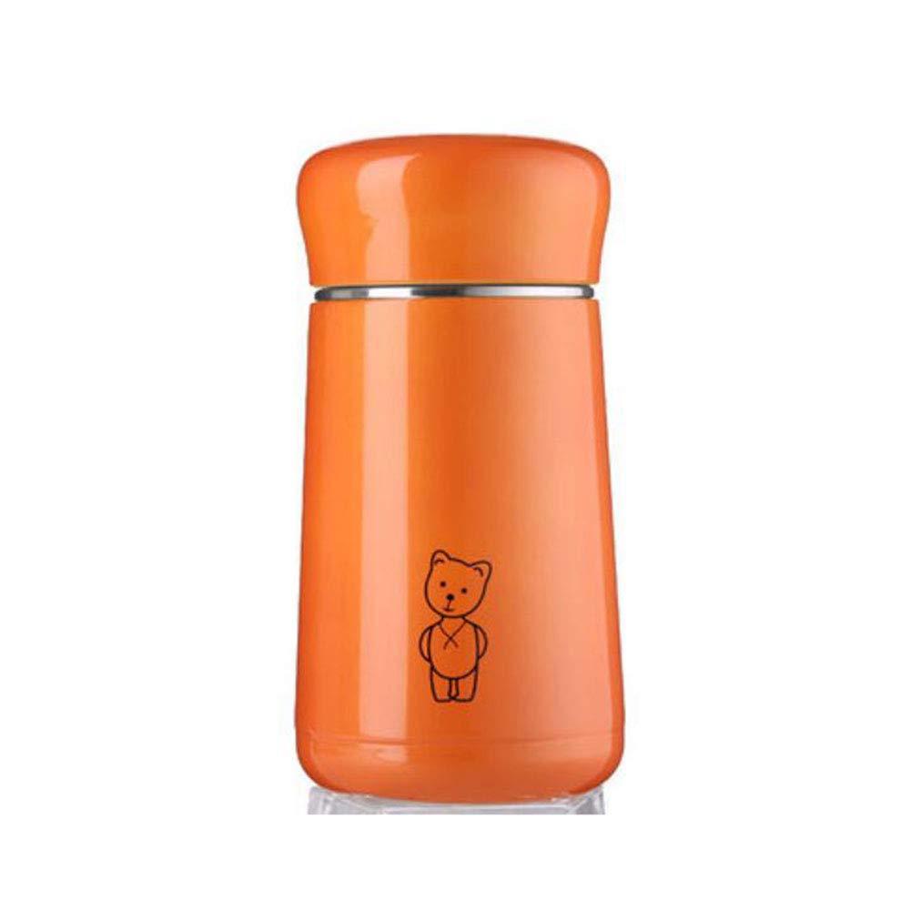 2018新発 FH サーモスカップポータブルミニ304ステンレススチール学生カップ子供用カップ (色 (色 : Orange Orange) : Orange B07K47PRS8, NATURAL BREEZE:8c521d8a --- efichas.com.br