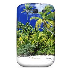 Galaxy S3 ZInRode5872ocPUE Beach Tpu Silicone Gel Case Cover. Fits Galaxy S3