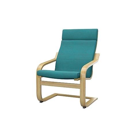 Soferia - IKEA POÄNG Funda para sillón, Classic Blue: Amazon ...