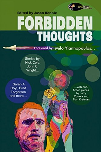 Book cover from Forbidden Thoughtsby Milo Yiannopoulos