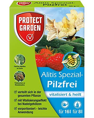 PROTECT GARDEN Alitis Spezial-Pilzfrei (ehem. Bayer Garten Aliette), Pilzbekämpfung an Zierpflanzen, Kopfsalat, Gurke und Erdbeeren, 40 g product image