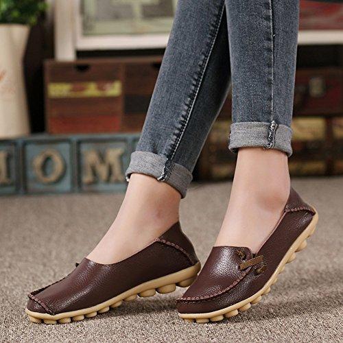 0ac252f5bf8 lovely VenusCelia Women s Comfort Walking Cute Flat Loafer ...