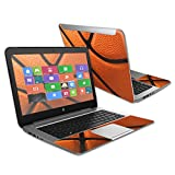 MightySkins Protective Vinyl Skin Decal Cover for HP Stream 14' (2015) Laptop Cover wrap sticker skins Basketball