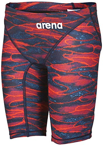 c6cd4fe984f58 Arena Boy's Powerskin St 2.0 Jammer Swimming Bottoms, Blue-Red, ...
