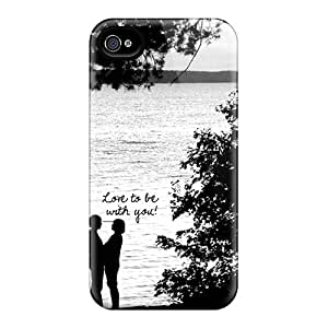 Hot Eak7329mXjs Case Cover Protector For Iphone 4/4s- Be With You
