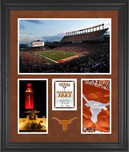 Texas Longhorns Darrell K Royal-Texas Memorial Stadium Framed 20