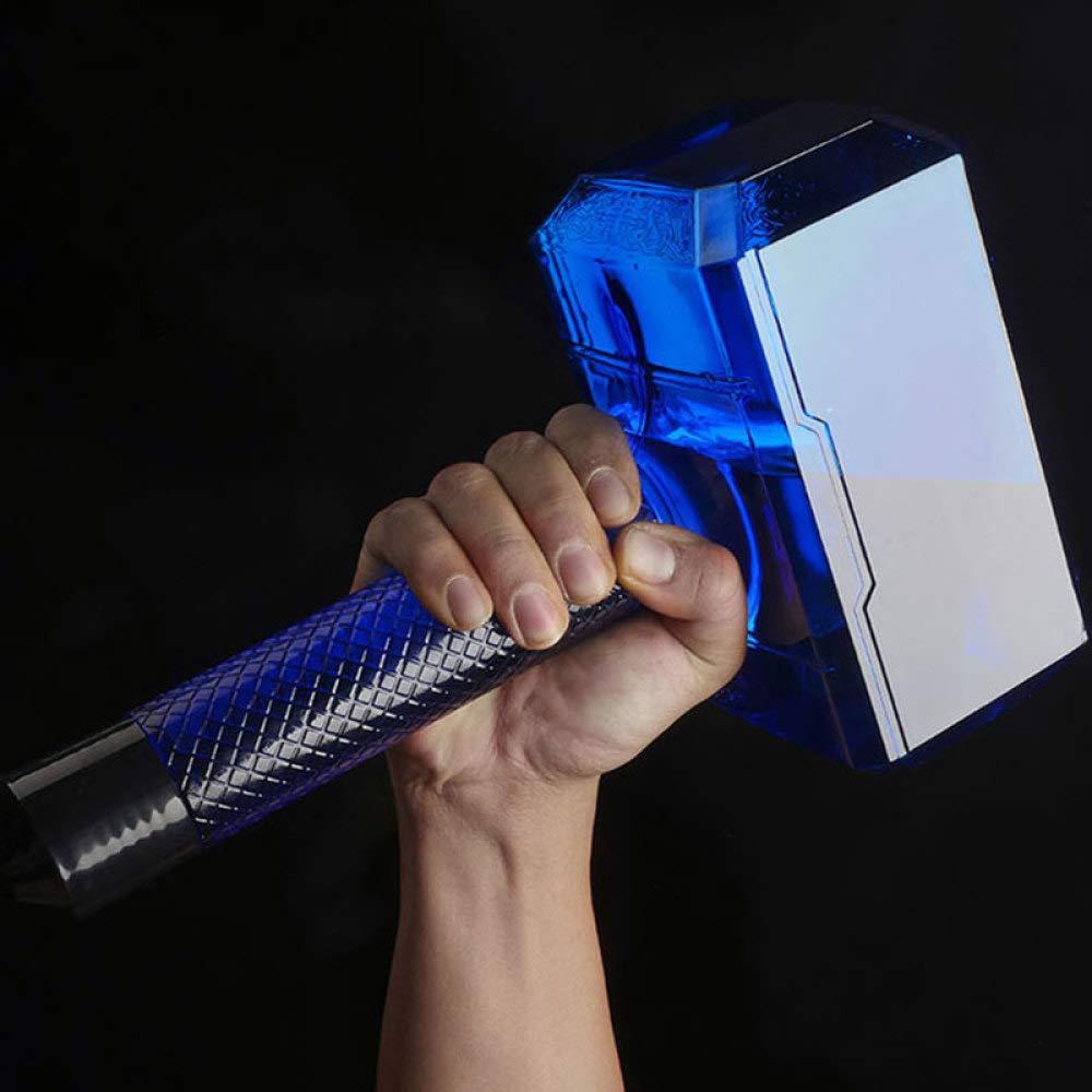 zhenfa Martillo gran capacidad deportes deportes deportes hervidor martillo-taza vaso de plástico al aire libre gran tamaño espacio real taza 1.7L azul 3f5060