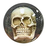 Clear Skull Bowling Ball