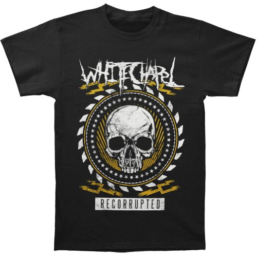 WhiteChapel Men's Recorrupted T-shirt Small Black