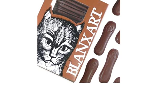 Amazon.com : Lenguas Gato - Milk Chocolate Cat Tongues by La Tienda : Grocery & Gourmet Food