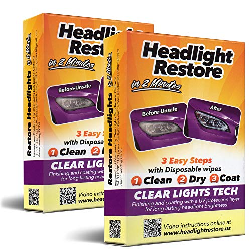 CLT Car Headlight Restoration