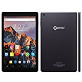 Android Tablet NPOLE 10.1 Inch Tablet Metal Shell 2GB RAM 16GB ROM 2MP Front / 5MP Rear Camera HD 1280x800 IPS Display 2.4G/5G Wi-Fi Bluetooth 4.0 GPS 2017 Release(Dark Grey)